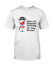 WINE DRINKING Classic T-Shirt tile
