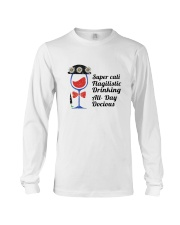 WINE DRINKING Long Sleeve Tee thumbnail