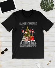 ALL NEED UKULELE Classic T-Shirt lifestyle-mens-crewneck-front-17