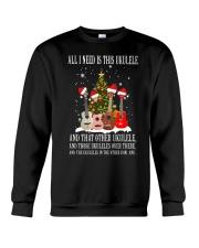 ALL NEED UKULELE Crewneck Sweatshirt thumbnail