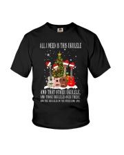 ALL NEED UKULELE Youth T-Shirt thumbnail