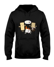 CAMPING GROUP HUG Hooded Sweatshirt thumbnail