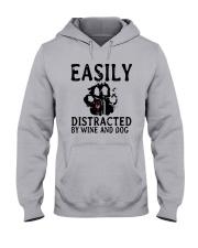 DISTRACTED WINE Hooded Sweatshirt thumbnail