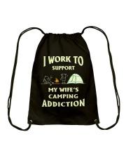 SUPPORT CAMPING WIFFE Drawstring Bag thumbnail