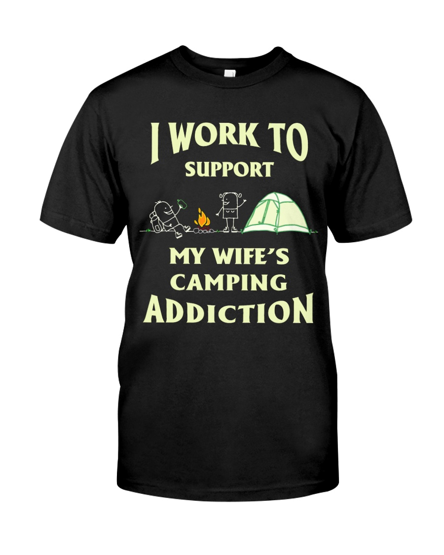 SUPPORT CAMPING WIFFE Classic T-Shirt