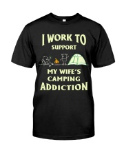 SUPPORT CAMPING WIFFE Classic T-Shirt front