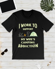 SUPPORT CAMPING WIFFE Classic T-Shirt lifestyle-mens-crewneck-front-17