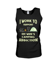 SUPPORT CAMPING WIFFE Unisex Tank thumbnail
