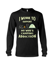 SUPPORT CAMPING WIFFE Long Sleeve Tee thumbnail