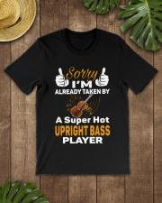 SUPER HOT UPRIGHT BASS Classic T-Shirt lifestyle-mens-crewneck-front-18