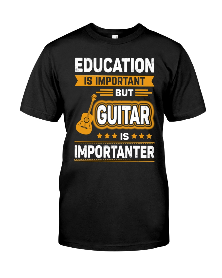 EDUCATION GUITAR Classic T-Shirt