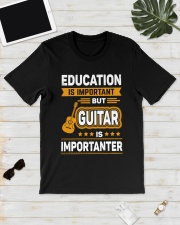 EDUCATION GUITAR Classic T-Shirt lifestyle-mens-crewneck-front-17