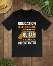 EDUCATION GUITAR Classic T-Shirt lifestyle-mens-crewneck-front-18