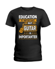 EDUCATION GUITAR Ladies T-Shirt thumbnail