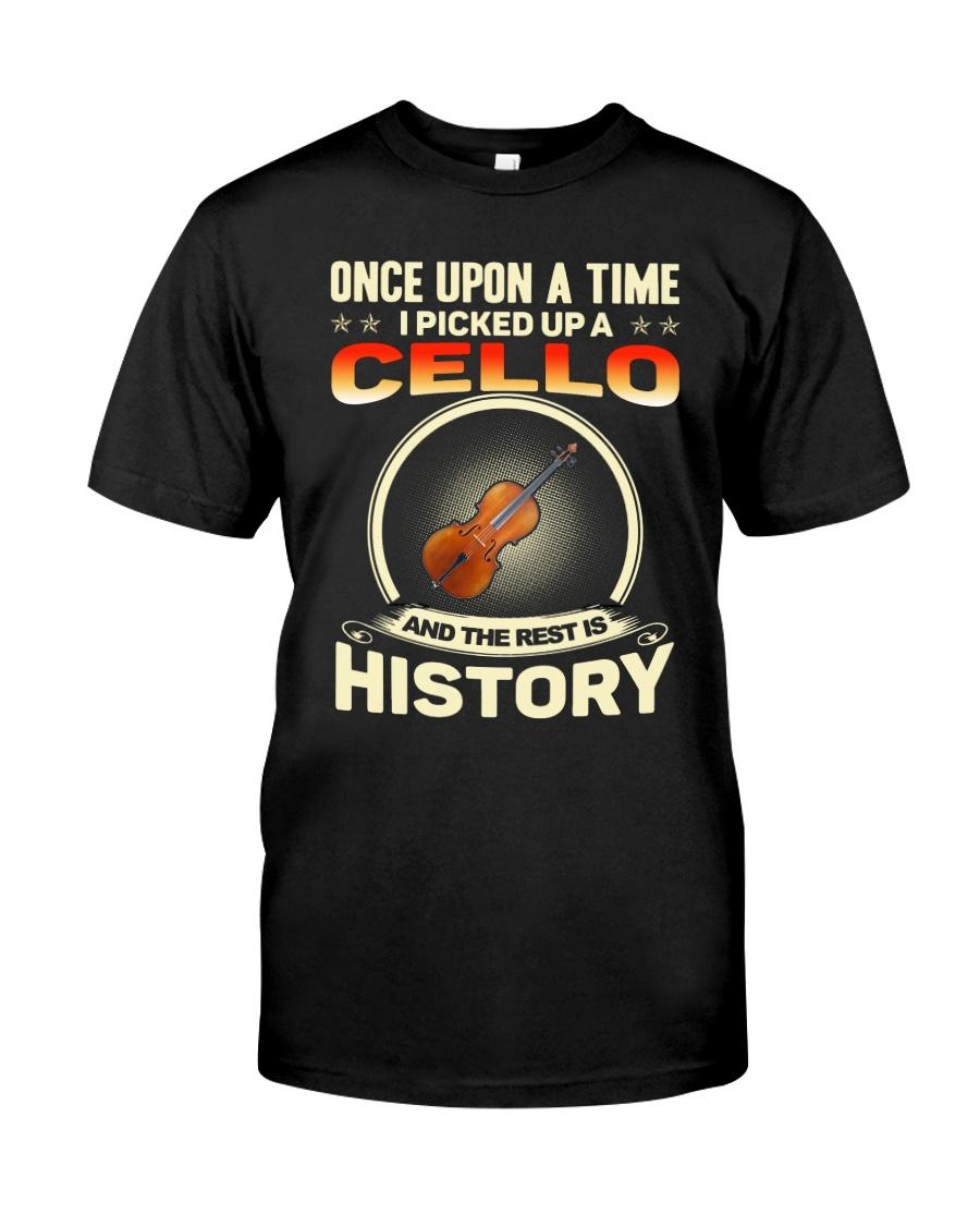 I PICK UP A CELLO Classic T-Shirt