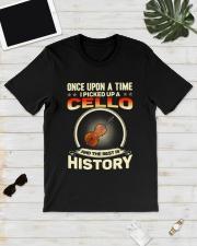I PICK UP A CELLO Classic T-Shirt lifestyle-mens-crewneck-front-17