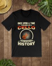 I PICK UP A CELLO Classic T-Shirt lifestyle-mens-crewneck-front-18