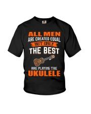 THE BEST PLAYING UKULELE Youth T-Shirt thumbnail