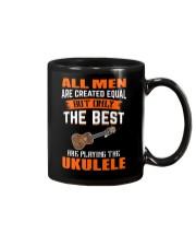 THE BEST PLAYING UKULELE Mug thumbnail