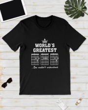 WORLD GREATEST GUITAR Classic T-Shirt lifestyle-mens-crewneck-front-17
