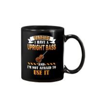 WARNING I HAVE A UPRIGHT BASS Mug thumbnail