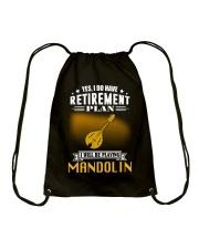 RETIREMENT MANDOLIN Drawstring Bag thumbnail
