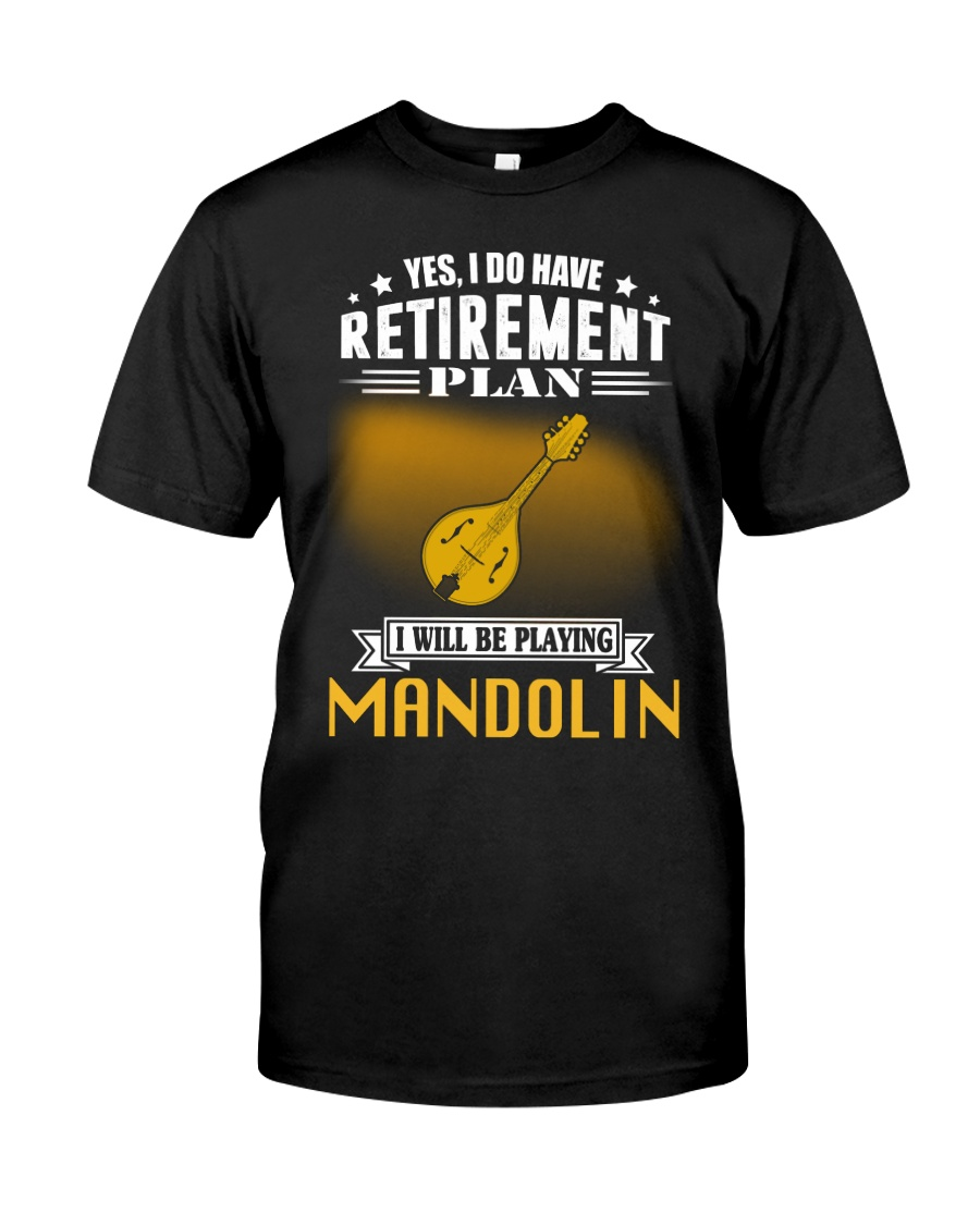 RETIREMENT MANDOLIN Classic T-Shirt