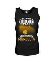 RETIREMENT MANDOLIN Unisex Tank thumbnail
