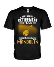 RETIREMENT MANDOLIN V-Neck T-Shirt thumbnail