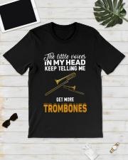 TELLING ME TROMBONE Classic T-Shirt lifestyle-mens-crewneck-front-17