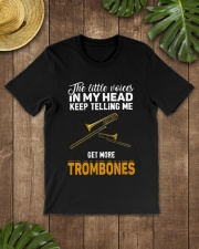 TELLING ME TROMBONE Classic T-Shirt lifestyle-mens-crewneck-front-18