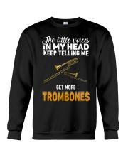 TELLING ME TROMBONE Crewneck Sweatshirt thumbnail