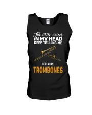 TELLING ME TROMBONE Unisex Tank thumbnail