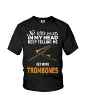 TELLING ME TROMBONE Youth T-Shirt thumbnail