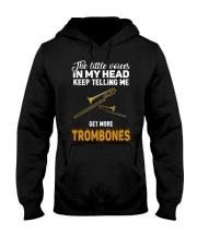 TELLING ME TROMBONE Hooded Sweatshirt thumbnail