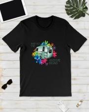 CAMPING ADVENTURE BEGINS Classic T-Shirt lifestyle-mens-crewneck-front-17
