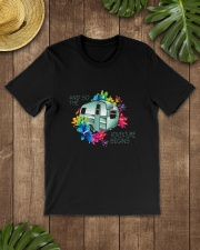 CAMPING ADVENTURE BEGINS Classic T-Shirt lifestyle-mens-crewneck-front-18