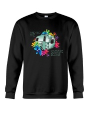CAMPING ADVENTURE BEGINS Crewneck Sweatshirt thumbnail