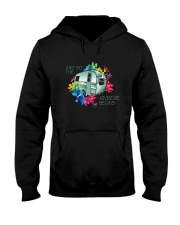 CAMPING ADVENTURE BEGINS Hooded Sweatshirt thumbnail