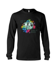 CAMPING ADVENTURE BEGINS Long Sleeve Tee thumbnail