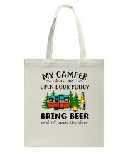 MY CAMPER BRING BEER Tote Bag thumbnail