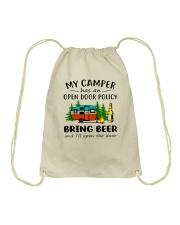 MY CAMPER BRING BEER Drawstring Bag thumbnail