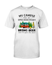 MY CAMPER BRING BEER Classic T-Shirt front
