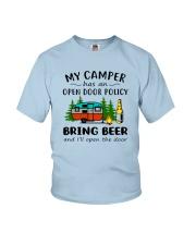 MY CAMPER BRING BEER Youth T-Shirt thumbnail