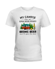 MY CAMPER BRING BEER Ladies T-Shirt thumbnail