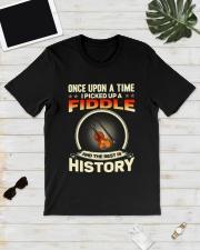 I PICK UP A FIDDLE Classic T-Shirt lifestyle-mens-crewneck-front-17