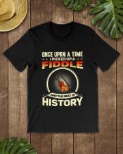 I PICK UP A FIDDLE Classic T-Shirt lifestyle-mens-crewneck-front-18