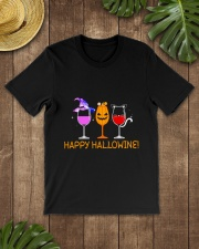 HAPPY HALLOWINE Classic T-Shirt lifestyle-mens-crewneck-front-18