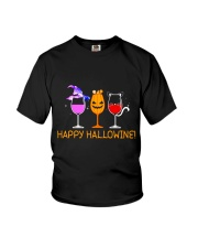 HAPPY HALLOWINE Youth T-Shirt thumbnail