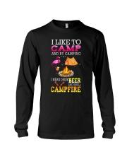 CAMPING BEER CAMFIRE Long Sleeve Tee thumbnail